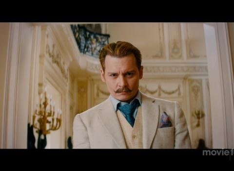 News video: Mortdecai - Trailer No. 1