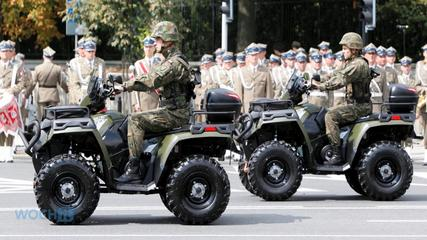 News video: Poland Puts On Biggest Military Parade In Years